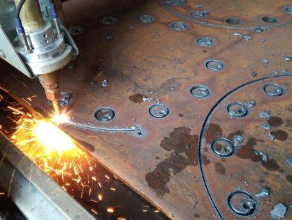 Usługi Cięcia Metali Nowoczesną Wycinarką Plazmową CNC